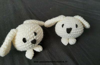 Des lapins au crochet