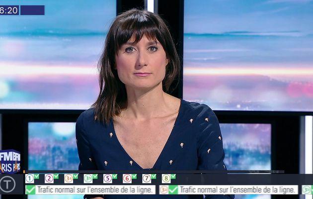 📸 AURELIE BLONDE pour BONJOUR PARIS @JohannaCarlosD8 @BFMParis #vuesalatele