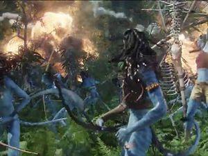 Wahou ! Quelle ordure sadique fasciste ! Sa mission est juste de détruire l'arbre géant et il en profite pour massacrer les Omaticayas pour le plaisir ! Ah non... autant pour moi. Il envoie des gaz pour les faire partir d'abord puis quand ils ripostent, les intimide avec des bombes incendiaires pour enfin tirer de réels missiles dans l'arbre. Quel sadique !