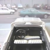 FORD TAUNUS 17M CABRIOLET GRIS METALLISE SOLIDO 1/43 - car-collector