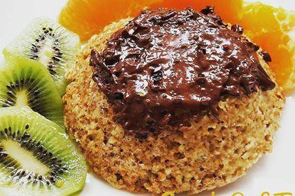 Bowl cake canelle / noisettes / baies de goji