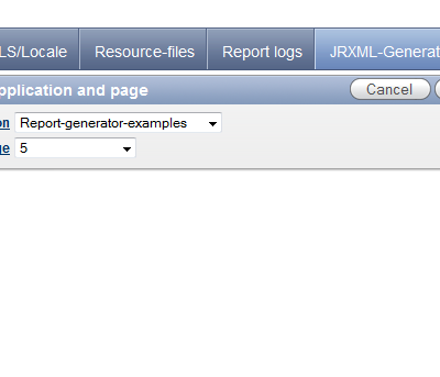 JRXML-Generator POC and sneak-preview available
