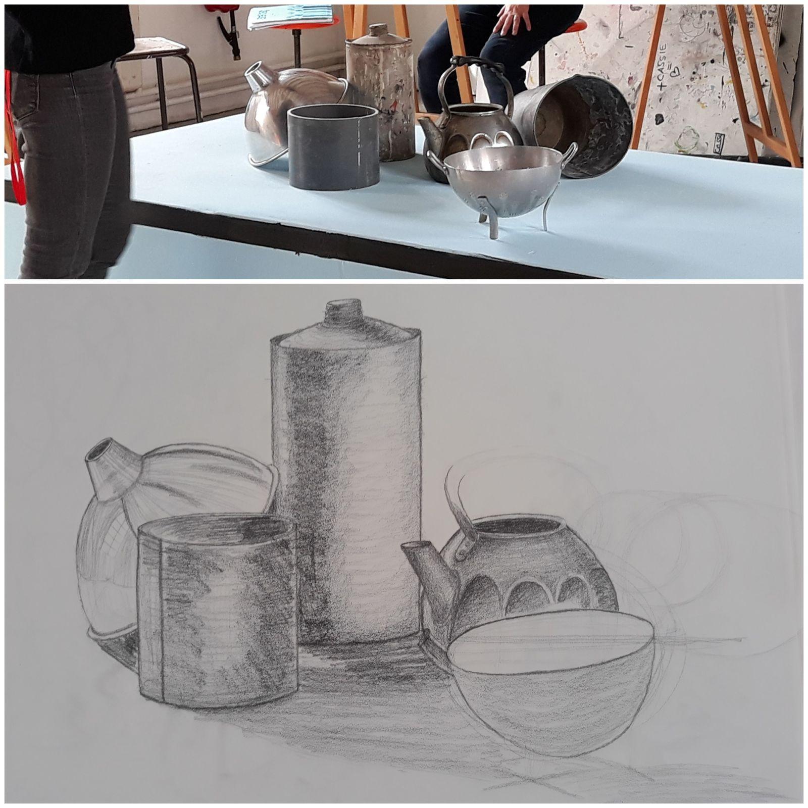 Cours Ecole d'Art du Beauvaisis