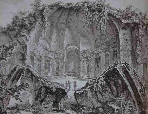 Piranèse (1720-1778) - graveur des antiquités romaines