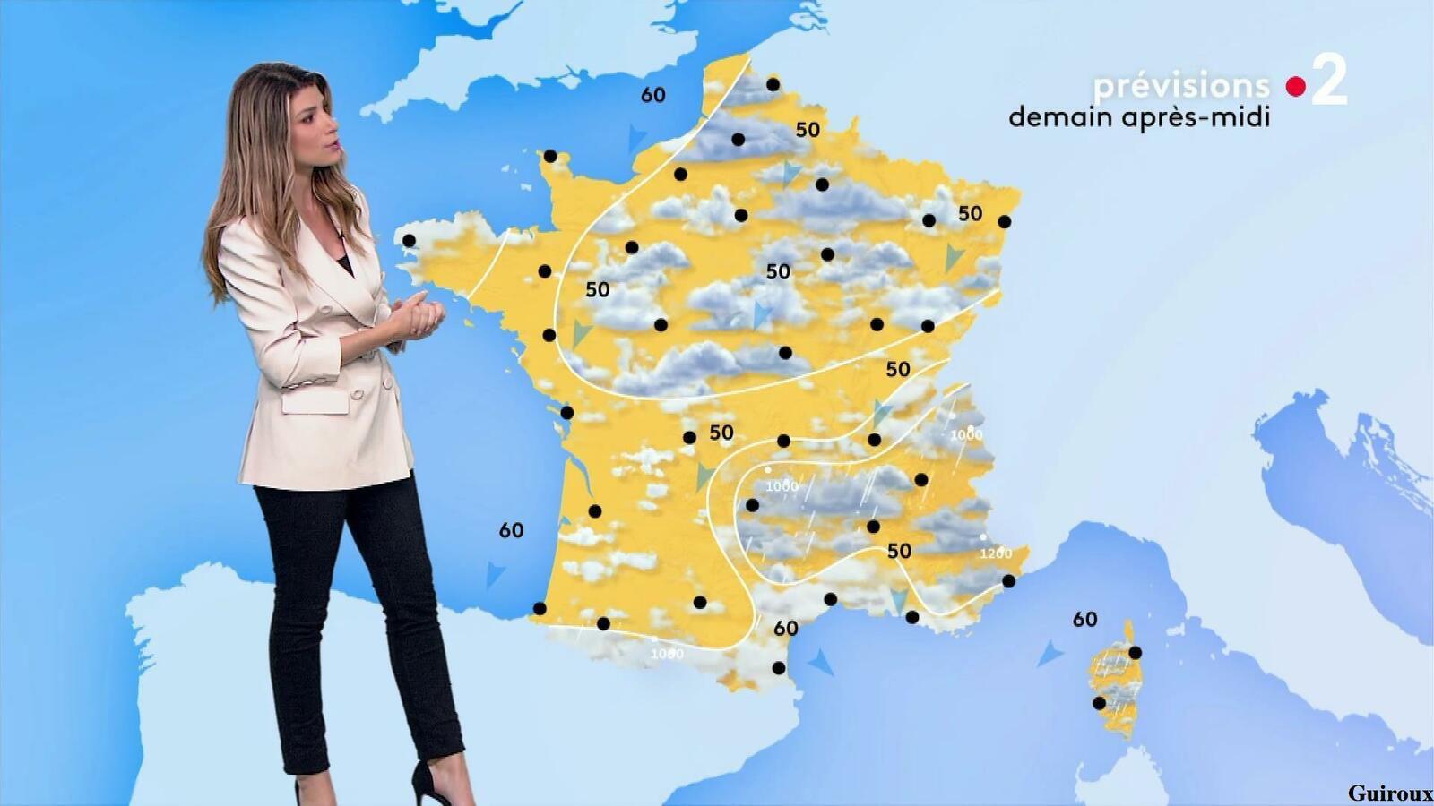 Chloé Nabédian 15/04/2021 Journaux météo du midi