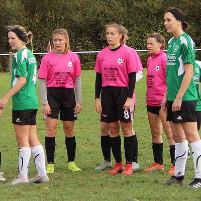 Les échos du foot féminin Creusois avec les Gazelles de Sainte Feyre contre Bord Saint Georges !...
