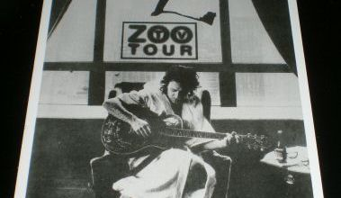 CARTE POSTALE U2 Zoo Tv Tour