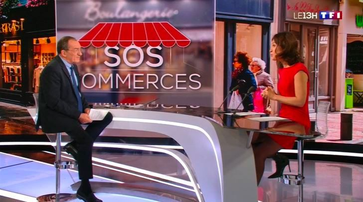 """""""SOS Commerces"""", opération inédite dans le JT de 13H sur TF1"""