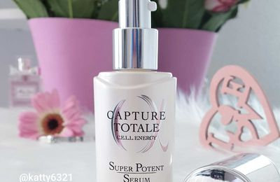 Test du Sérum Capture Totale Cell Energy de Dior