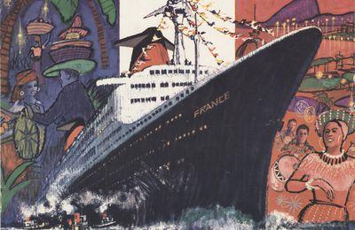 """Paquebot """"France"""" : évènements durant l'année 1963"""