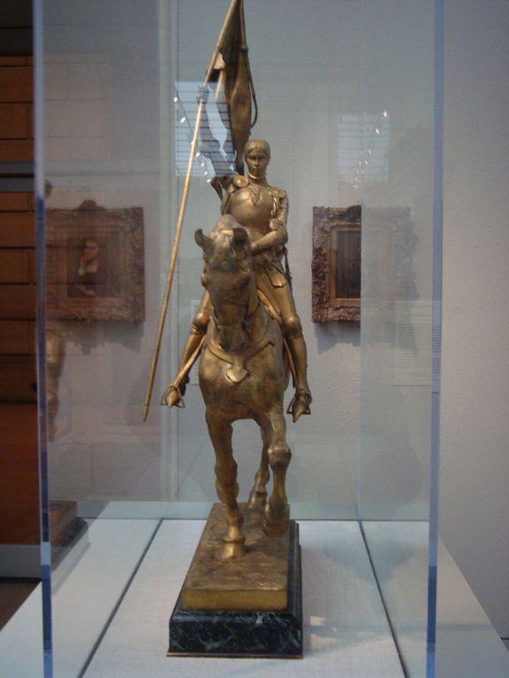 Jeanne d'Arc à Fairmount Park à Philadelphie et au musée des Beaux-Arts de Philadelphie, photos J.D. avril 2016