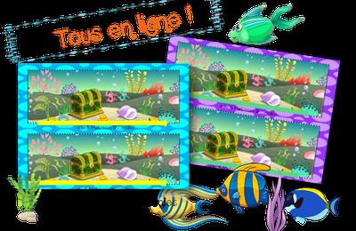 Animaux de la mer : Tous en ligne.