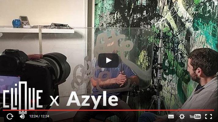 #Azyle a tous les droits (#Vidéo #Graffiti #RATP #Clique 26/09/15)