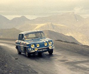 5 RENAULT 8 GORDINIS FOR THE RALLYE MONTE-CARLO