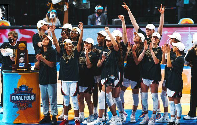 NCAA : L'Université de Stanford remporte le tournoi de basketball féminin