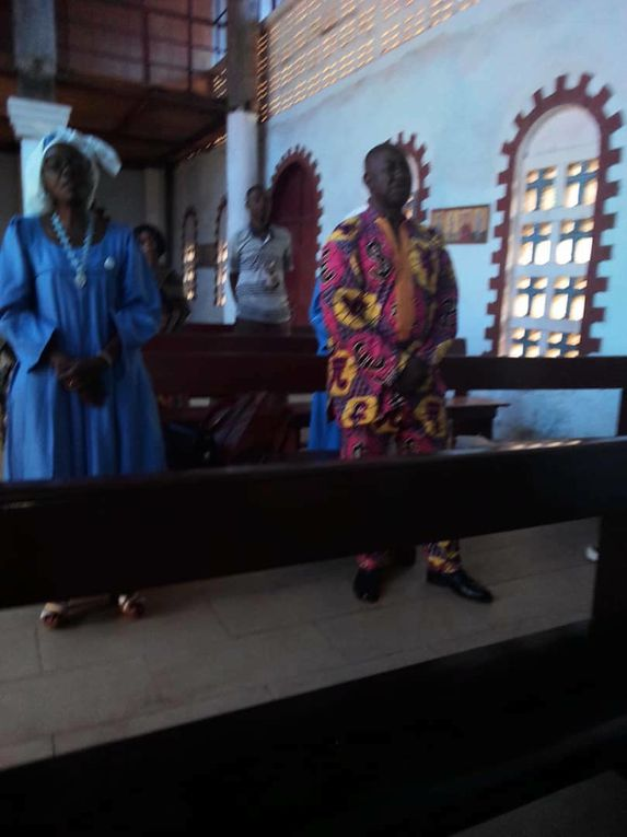 Célébration au Cameroun
