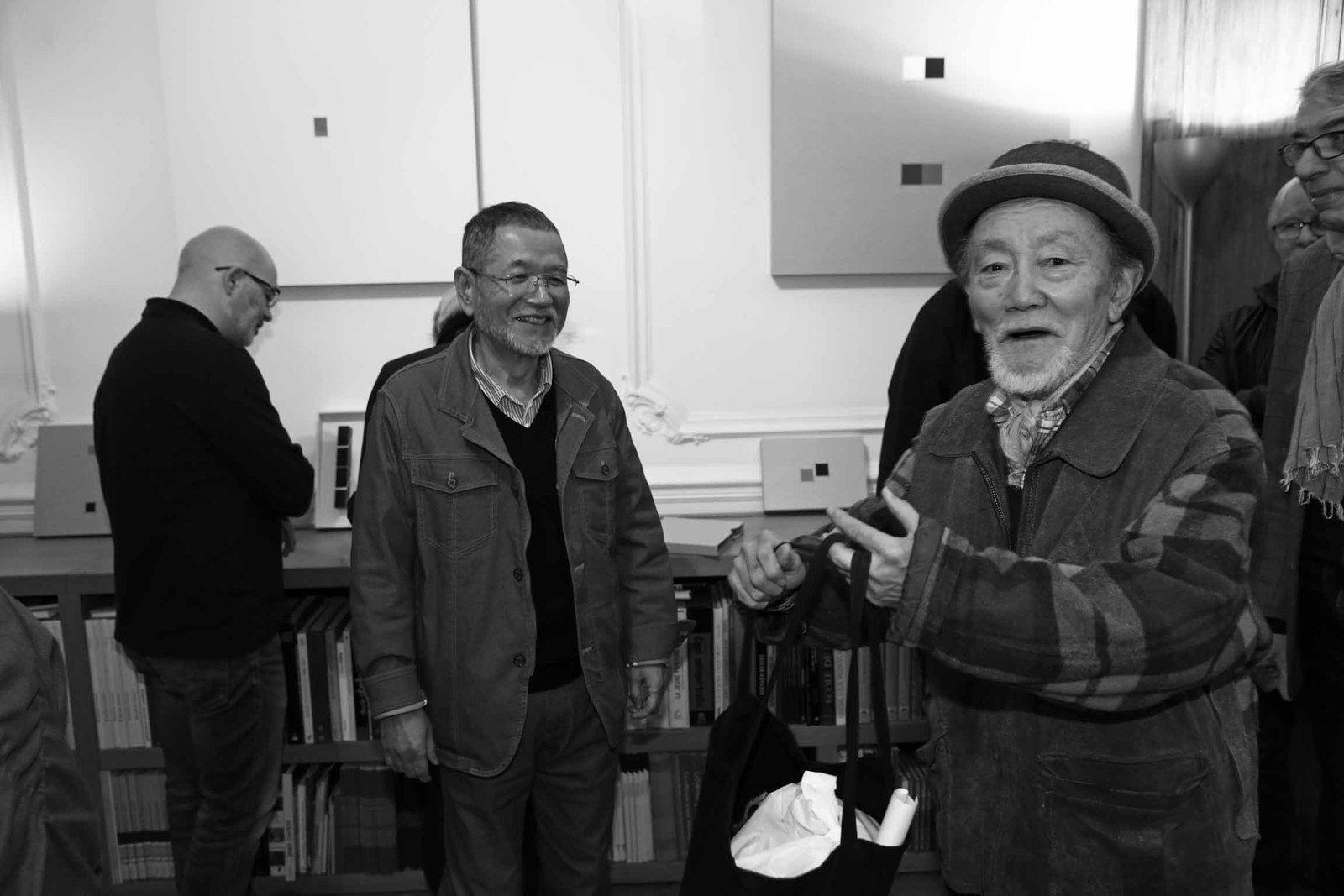 Gaël Bourmaud, Satoru Sato, Hiroshi Harada