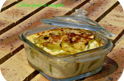 Terrine froide de courgettes