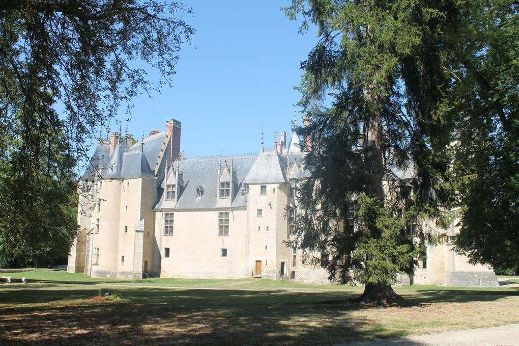 1 - Un petit Morangissois à la découverte du château de Meillant