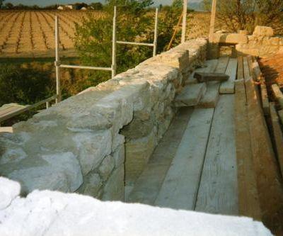 Elévation du mur de refend