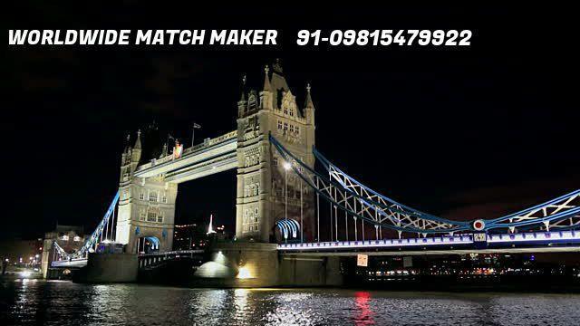 (12)ENGLAND MATRIMONIAL SERVICES 91-09815479922 FOR ALL CASTE