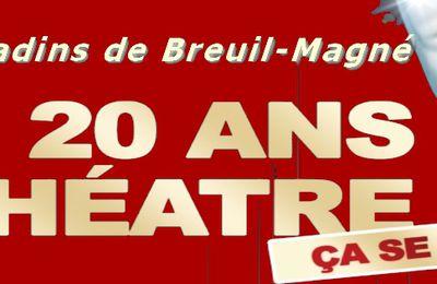 Nos auteurs invités pour fêter nos 20 ans de théâtre le 1er WE de décembre 2020