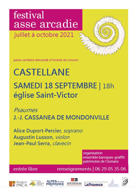 Animations journées du patrimoine Castellane 18 et 19 septembre