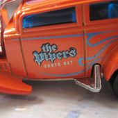 STRAIGHT PIPES FORD VICKY 1932 HOT WHEELS 1/64 - car-collector.net