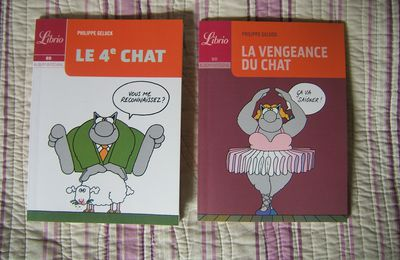 Philippe Geluck, Le 4ème chat - La vengeance du chat, Librio, Paris, 2009.