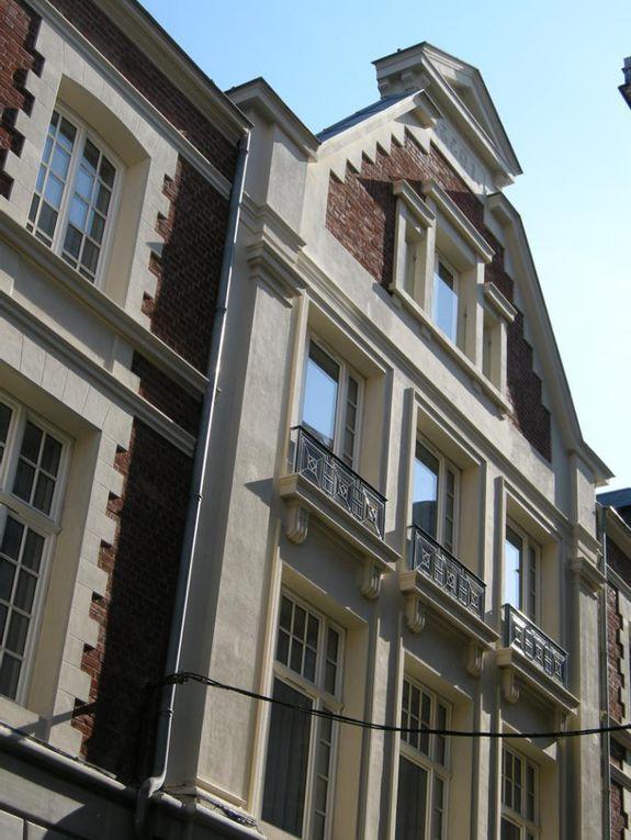 Grand' Place et rue du Noble. Julien Wirton, architecte, 1933.