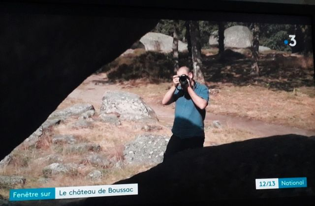 Reportage France 3 sur les Pierres Jaumâtres
