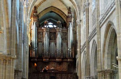 L'orgue de la collégiale Notre-Dame des Andelys