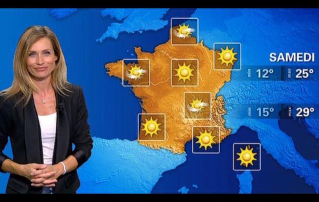[2012 09 02] SANDRA LARUE - BFM TV - LA METEO
