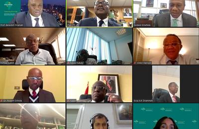 Le Conseil d'administration du Système panafricain de paiement et de règlement tient sa réunion inaugurale