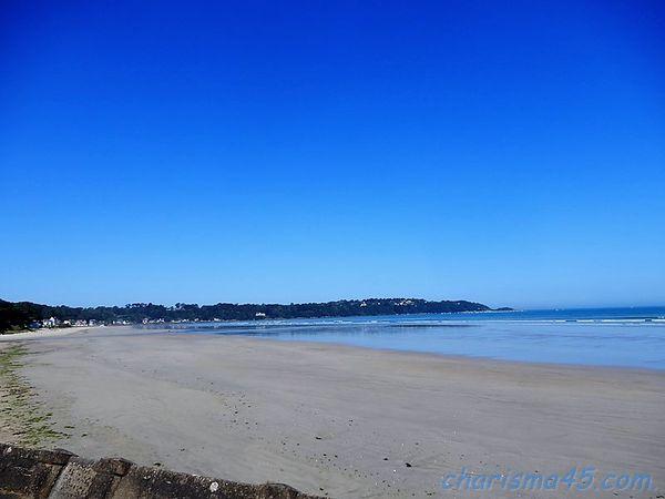Saint-Michel en grève, Bretagne en camping-car