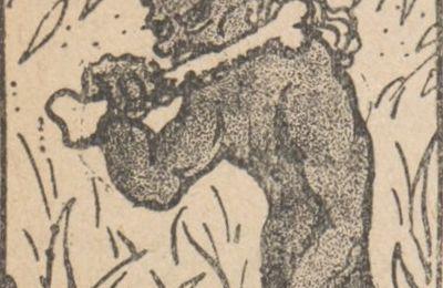 """Fanny Clar """"Chez le Grand-père"""" (1921), illustré par Jean Clar"""