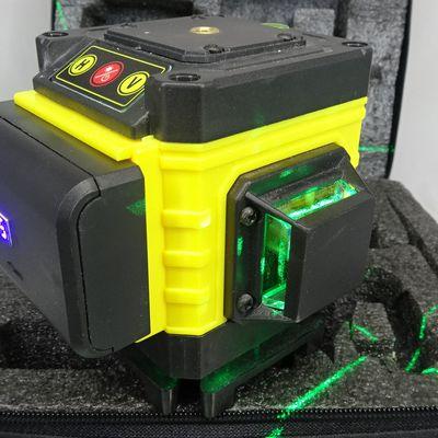 Niveau laser 12 lignes (3 plans) haute luminosité et auto level pour 50€ avec accessoires