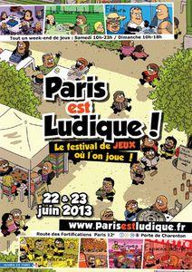 Paris est ludique ! 2013 : Le festival de jeux où l'on joue !