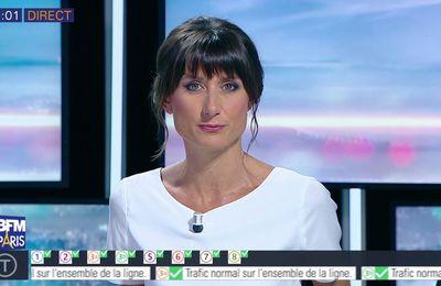 📸5 AURELIE BLONDE pour BONJOUR PARIS @JohannaCarlosD8 @BFMParis ce matin #vuesalatele