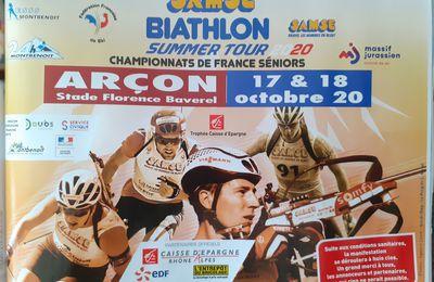 2 ième étape SAMSE Summer Tour Biathlon à Arçon