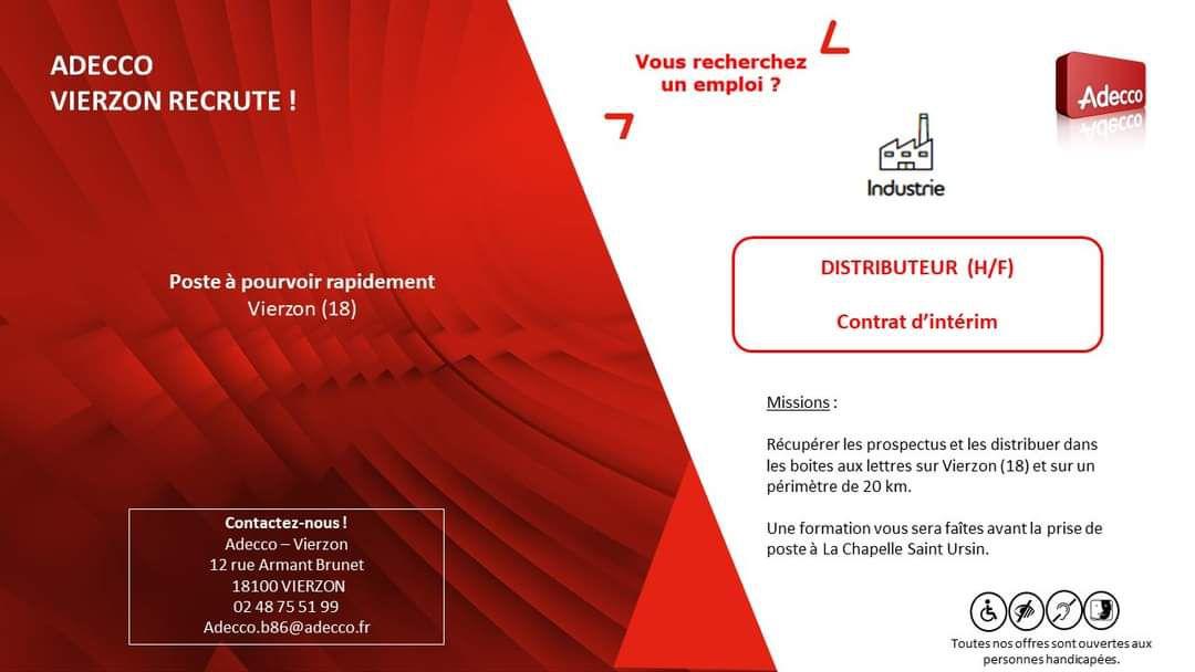 Pour la distribution des plis électoraux à Vierzon