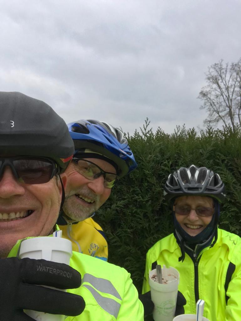 3 échappés du Loupy rencontrés sur la voie verte !!!