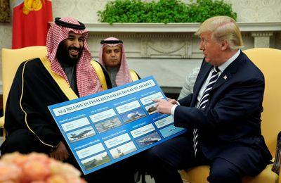 """Affaire Kashoggi. Trump s'est vanté d'avoir """"sauvé la peau"""" du prince héritier saoudien (AFP)"""