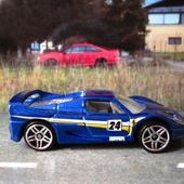 FERRARI F50 VOITURE MINIATURE HOT WHEELS 1/64 - car-collector.net