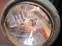 VINTAGE AMERICAN HEADLIGHT FROM WORLD WAR II
