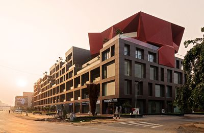 STELLAR BUILDING BY SANJAY PURI ARCHITECTS IN AHMEDABAD, GUJARAT, INDIA
