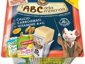 L'ABC della merenda Parmareggio è disponibile in 4 gusti e tipologie