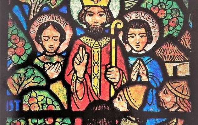 Les vitraux de François Décorchement (Conches-en-Ouche 1880 - 1971)