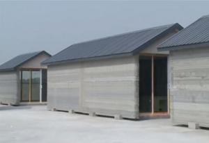 Chine : Maisons imprimées avec des imprimantes 3D