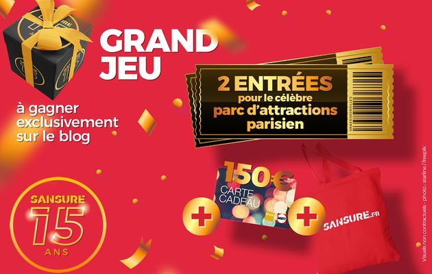 JEU TERMINÉ : Grand Jeu #15ansSANSURE ! #Concours